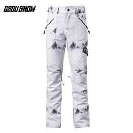 Warmest ski pants Women online shopping - GSOU SNOW Brand Ski Pants Women  Skiing Snowboarding Pants 31b80e0f7