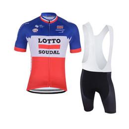 50a347825 Ropa Ciclismo quick dry Cycling Clothing 2018 Summer Pro Team LOTTO Cycling  Jerseys Set Short Sleeves racing Bike Bib shorts K92023