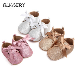 infant toddler slippers NZ - Newborn Baby First Walker Infant Crib Shoes for Girls Anti-slip Soft Sole Prewalker Toddler Moccasins New Born Footwear Slippers