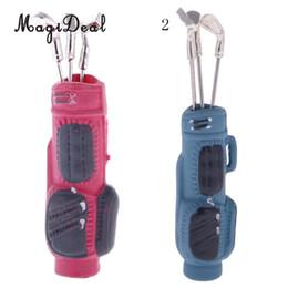 6b40ef97e4a3 Wholesale Doll Houses Australia - MagiDeal 1Set Metal 1 12 Scale Dollhouse  Miniature Accessory Golf Bag