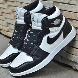 Carolina do Norte azul homens sapatos oreo Chicago branco vermelho GS sapatos femininos Joe 1 feng shui alta top basquete shoes1169 em Promoção