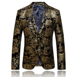 Men s suit accessories online shopping - New suits stage performing arts and accessories Europe and the United States British style large size West suit jacket