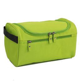 9acf2e3316 New Waterproof Men Hanging Makeup Bag Nylon Travel Organizer Cosmetic Bag  for Women Necessaries Make Up Case Wash Toiletry Bag