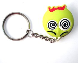 Discount girls led light ring 2016 HOT Selling Key Chains Wholesale Custom 3D Cute Animal bird Logo Key Tag Soft PVC Rubber Jersey T-shirt keychain bi
