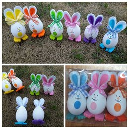 Eggs decor nz buy new eggs decor online from best sellers dhgate 3pcs 1set easter gift ornament bunny shaped easter eggs decoration arts crafts easter bunny eggs decor gifts toys party events kka4455 negle Images