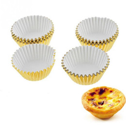 Cupcakes Mix NZ - Free shipping 1000pcs lot HOT mix foil cupcake cases papers muffin liners cake cups baking mould