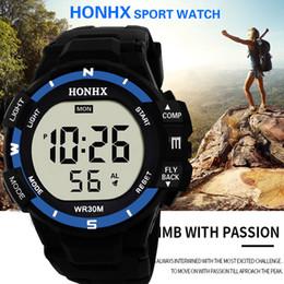 Men Digital Wrist Watches NZ - Luxury Sports Watch Men Fashion Casual Analog Digital Army Sport LED Waterproof Mens Wrist Watches relogio masculino 65