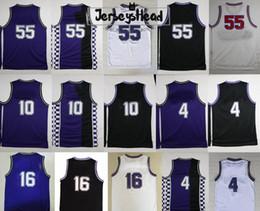 Mens Basketball Jerseys Chocolate Jason Williams 4 Chirs Webber 16 Peja  Stojakovic 10 Mike Bibby Retro Cheap Stitched 30667aabc