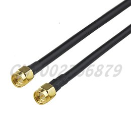 straight cables NZ - 1ft 30cm RF SMA Plug Straight to SMA Plug Straight KSR195(LMR195) Pigtail Cable assembly Wireless Infrastructure
