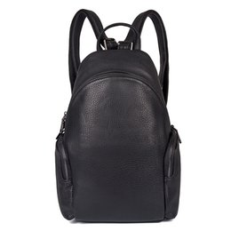 Discount jmd leather bags - JMD Women Leather Backpack College Student School Bags Backpack for Teenagers Fashion Oval Type Casual Rucksack Travel D