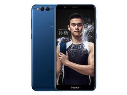 "Original Huawei Honor 7X 4GB RAM 32GB 64GB 128GB ROM 4G LTE Mobile Phone Kirin 659 Octa Core Android 5.93"" 16.0MP OTA Smart Cell Phone New on Sale"