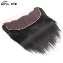 Discount virgin hair free part lace closure - Fashion Straight 13*4 Swiss Lace Frontal Closure Unprocessed Brazilian Peruvian Malaysian Indian Virgin Hair Virgin Hair