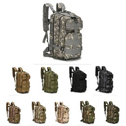 Art Attack UK - 30L 3P Attack Tactical Military Backpacks Unisex Outdoor Travel Bag Mountaineering Hiking Backpack Camping Trekking Rucksack