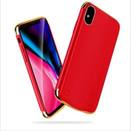 China Hot selling 5500mah charging case for iphone X Slim phone charger case for apple X Battery case suppliers