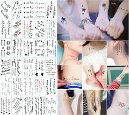 Wholesale 210 Styles Tattoo Stickers Waterproof Body Art Temporary Tattoos Stickers Unisex Jewelry Gifts Health Beauty Product CCA10659
