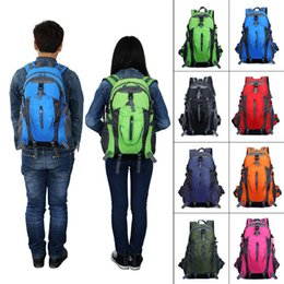 $enCountryForm.capitalKeyWord Canada - 35L Large Outdoor Sport Nylon Backpacks Women Men Waterproof Travel Backpack Mountaineering Hiking Climb Camp Bags Rucksack