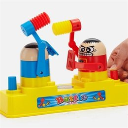 kids desktop 2019 - Battle Game Kid Children Desktop Developmental Toys Parenting Fight Against Double Man Interactive Hammening Content 14x