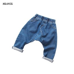 8debbdcf9 2-7T Children Pants Solid girls jeans 2017 Spring Baby Girl Jeans Casual Trousers  Children Clothing Girls Kids Harem