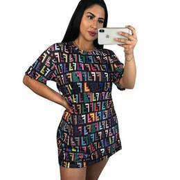 677178bc33 NEW Summer O Neck Short Sleeve Mini Dress Lady Casual Streetwear Loose  Vestidos Fashion Printed T Shirts Sundress Robes
