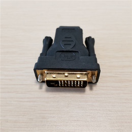 Dvi Connector Hdmi Australia - 10pcs lot DVI Type D 24Pin + 1Pin Male to HDMI Female Adapter Converter Connector for Video TV PC