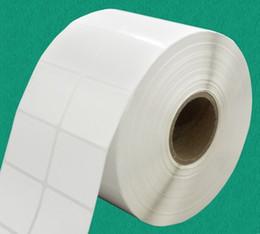 40 * 30 * 300 feuilles de papier d'impression de codes à barres d'autocollant de consommables de bureau d'autocollant vierge peuvent faire 8.1 7 2012 autocollant
