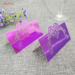 100 pcs corte a laser diy oco cartão de papel cartão de festa de casamento decoração atividade cartão de assento favorito suprimentos 5 zsh929 em Promoção