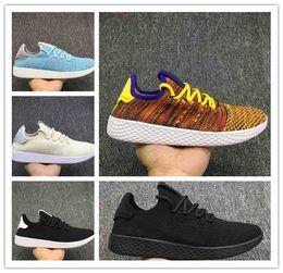 2018 New Originals stan smith Pharrell Williams Tennis HU 3D Run Primeknit  Shoes Fashion Women men PW Human Race NMD Sports Casual Shoes c33ed994c