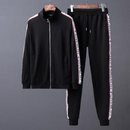 36dddee8850d 2018 marchio di lusso del marchio migliore qualità Autunno per gli uomini  abbigliamento dare felpa giacca giacca di cotone lettera tuta lettera  cerniera ...