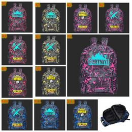 Boys hunting online shopping - 12 colors Fortnite Backpacks Fortnite Noctilucous Luminous Backpacks for Boys Girls Fortnite Battle Royale Schoolbag MMA537