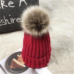 $enCountryForm.capitalKeyWord Australia - Women's Fashion Knitted Cap Autumn Winter Men Cotton Warm Hat CC Skullies Brand Heavy Hair Ball Twist Beanies Solid Color Wool,L6