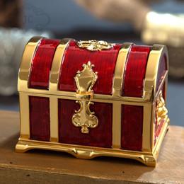 $enCountryForm.capitalKeyWord NZ - European retro M size Metal Crafts Jewelry Box Storage Jewelry Box storage case Treasure Chest table organizer Z104