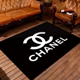 Luxury Kitchens Designs Australia - New Luxury Design Letter Pattern free-hand Home Furnishing Bedroom Front Door Non Slip Mat Carpet Living Room Kitchen Floor Cartoon Doormat