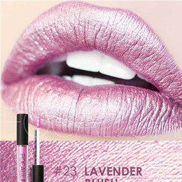 $enCountryForm.capitalKeyWord NZ - FOCALLURE New Fashion Lipstick Waterproof Cosmetics Women Make up Sexy Lips Metallic Long Lasting Metal Color Lip Gloss