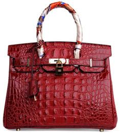 Discount michael kors - crocodile shoulder bags emboss ostrich wholesale  bride women handbag tote lady purse 6c63aad1c