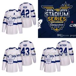 cc4c9301080  42 Tyler Bozak Jersey Toronto Maple Leafs 2018 Stadium Series 16 Mitch  Marner 32 Josh Leivo 43 Nazem Kadri 47 Leo Komarov Hockey Jerseys