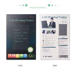 $enCountryForm.capitalKeyWord Australia - 8.5' LCD Digital Writing Tablet Drawing Board Electronic Small Blackboard Paperless Office 8.5 inch Handwrit Board Christmas present for kid