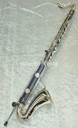 Nouveau clarinette basse JUPITER JBC1000N Noir Tube Clarinette Marque New B Flat Instruments Instrument de musique avec étui Livraison gratuite en Solde