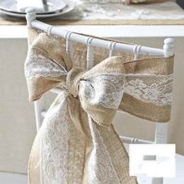 $enCountryForm.capitalKeyWord Australia - Lace Bow Pastoral Beautiful Romantic Wedding Supplies Wedding Events Chair Sash New Coming