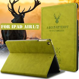 Wholesale Case for iPad quot New Tablet Stand PU Leather Magnet Smart Cover Auto Sleep Wake for All Ipads Model