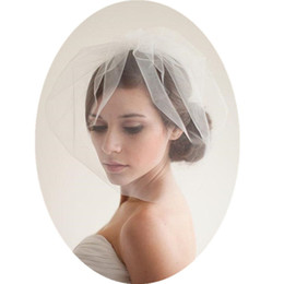 Shop Short Wedding Veils Headpieces UK | Short Wedding Veils ...