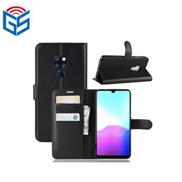 Wholesale Items Sold Australia - Mate20 Flip Cover For Huawei Mate 20 PU Leather Wallet Flip Cover Case with Magnetic Buckle 2018 Hot Selling Items