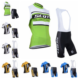 Scott Bikes Canada - SCOTT Cycling Jerseys Short Sleeves Cycling Clothes Kit With 3D Gel Padded Shorts Hombre Racing Mtb Bike Sport Quick Dry Ropa Ciclism E60502