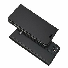 China For Xiaomi Redmi 6A & Redmi 6 Pro Flip Case Magnetic Slim Book Card Protective Shell Wallet Leather Cover suppliers