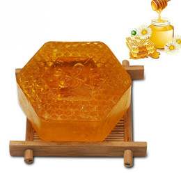 natural body soaps NZ - 100g Handmade Soap Essential Oil Moisturizing Unique Smell Natural Bath Body Skin Care Deep Cleansing Honey Soap