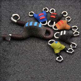 Mini Manuale Slingshot 6.5x5.5 cm Ciondolo Decorato In Miniatura Leggero Dell'acciaio Inossidabile Slingshot Livraison gratuite en Solde