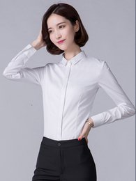 $enCountryForm.capitalKeyWord UK - Women Long sleeved shirt pure cotton business shirt