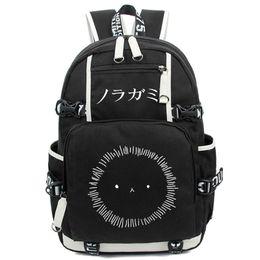 anime laptop 2018 - Noragami ARAGOTO YATO Backpack Anime Luminous Shoulder Bag Cosplay Nylon Laptop Travel Schoolbag Free Shipping cheap ani