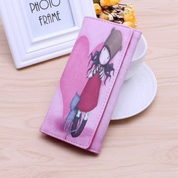 $enCountryForm.capitalKeyWord NZ - Women Wallets Lady Purses Brand Design Handbags Coin Purse Long Clutch Moneybags Cartoon Girls Wallet ID Cards Holder Pocket Bags Notecase