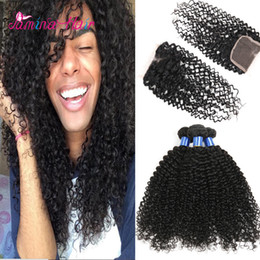 Curly Human Hair For Weaves Australia - Brazilian 3pcs afro kinky curly human hair weave, loose curly human hair for sale, kinky curly colored brazilian remy hair weave