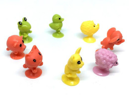mini figures animals Canada - Hot Sale 23 Styles Children Little Colorful Cartoon Ocean Animal Action Figures Toy Mini Monster Sucker Capsule Model